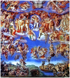 Michelangelo's The Last Judgement