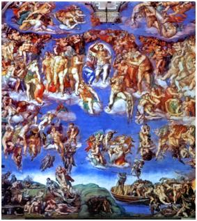 Michelangelo's The Last Judgement